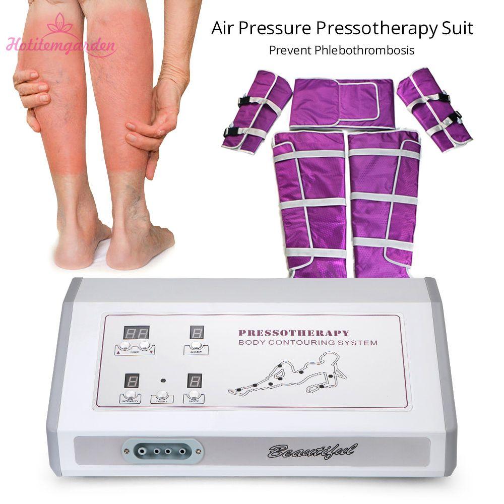 جودة عالية ضغط الهواء التخسيس البدلة الضغط العلاج بالضغط العلاج الطبيعي البعيد الأشعة تحت الحمراء الحرارة موجة الهواء آلة الضغط صالون استخدام
