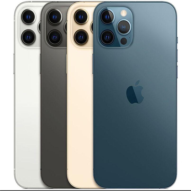 """Refurbado original iPhone XS max en 12 PRO MAX Style Teléfono de alojamiento 6.5 """"Pantalla con 12 Pro Max Box Apple desbloqueado 1pcs Envío"""