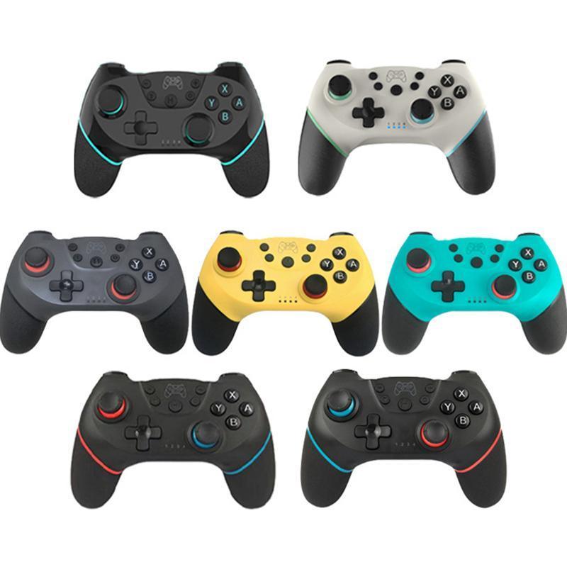 1pcs GamePad Wireless Bluetooth Jeu de poignée Switch Contrôleur Télécommande Joypad Conçu pour le contrôleur de commutation en stock