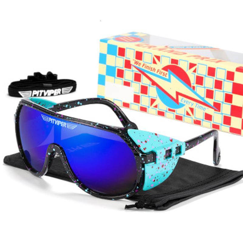 2021 Открытый IVVR Pit Viper Polarized Люди Солнцезащитные очки в скидке на очки 1993 65% Ski Cwlij
