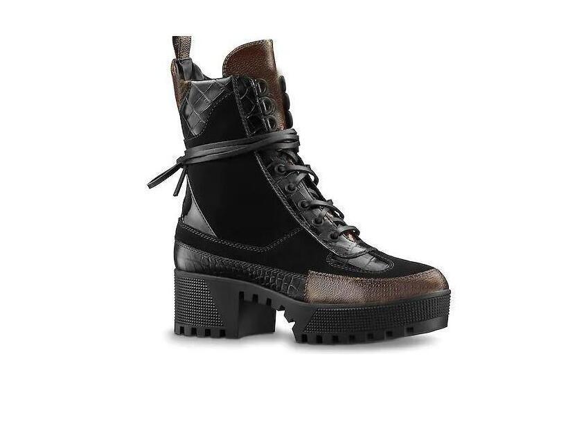 حار بيع الأزياء الصحراء التمهيد النساء الكلاسيكية طويل القامة الأحذية النسائية الأحذية الثلوج والجلود winterrartin أحذية سيدة سميكة المطاط مكتنزة كعب RT-1X