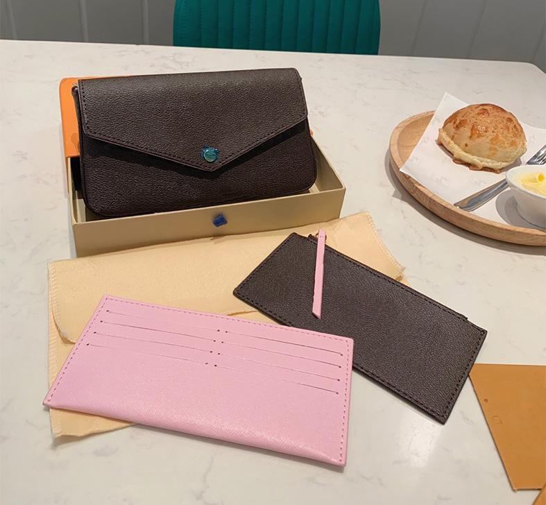 مصمم العلامة التجارية الكلاسيكية حقيبة الكتف 2020 سلسلة الأزياء سلسلة الكلاسيكية السيدات محفظة جلدية حقيبة يد الحرة مربع الأصلي