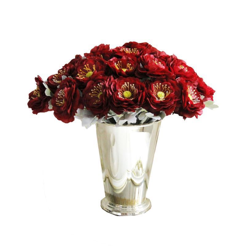 10Pcs Einzel-Zweig Silk Rose Künstliche Blumen für Hauptdekoration Gefälschte Blume Hochzeit Braut Bouquet Rosen-Blumen-Wand-Kranz
