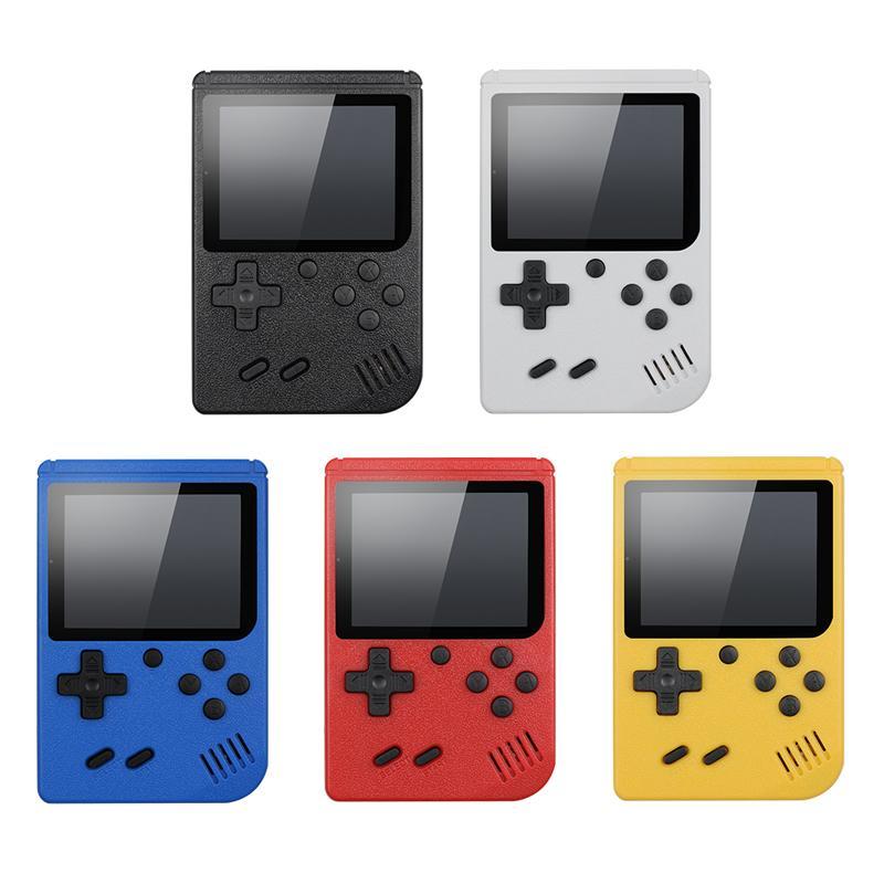 Портативный портативный видеоигра Console Retro 8 бит мини-игры Игроки 400 Игры 3 в 1 AV Games Pocket Gameboy Color LCD