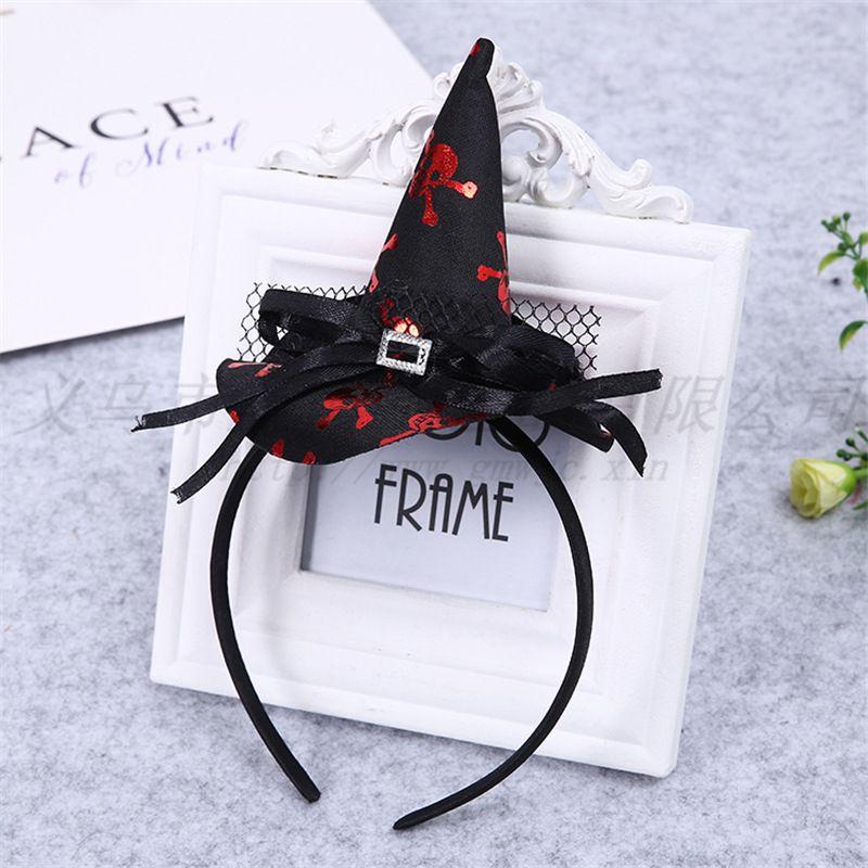 День Святых поставляет все голова HOW Hat Happy Подарочная роль ведьма Детская тыква ведьма декоративные игрушки играют ULCMM