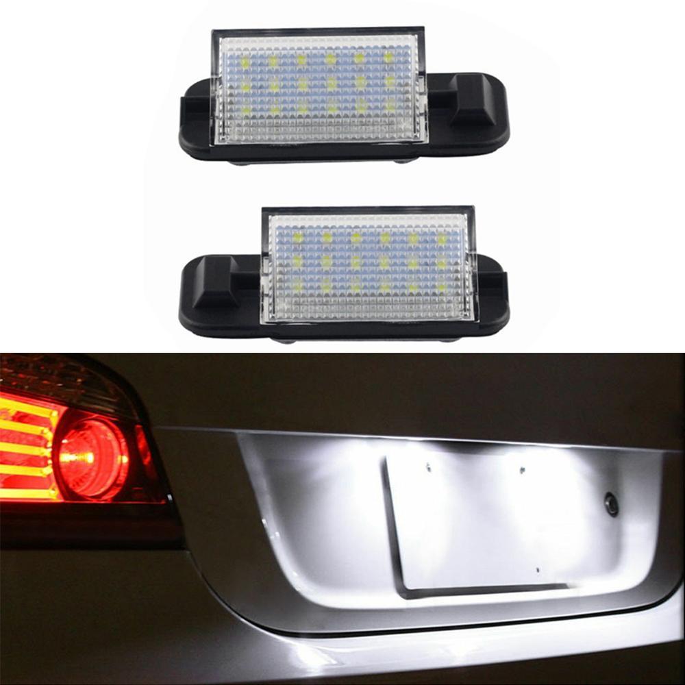 2Pcs номерного знак света лампа для BMW E36 Специального светодиодные