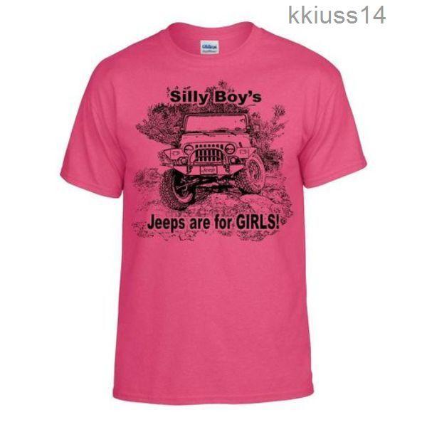 Tops Estate raffreddare T-shirt divertente sciocco ragazzi jeep sono per le ragazze eccellente maglietta morbida veloce shippingGNX32