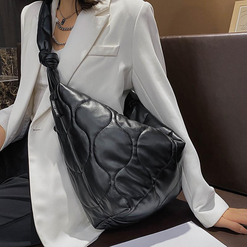 HBPVeryMe Cloth Shoulder for Women Fashion Leather Composite Women's Bags Trend Ladies Handbags Large Capacity Female Daily Bag Q0112