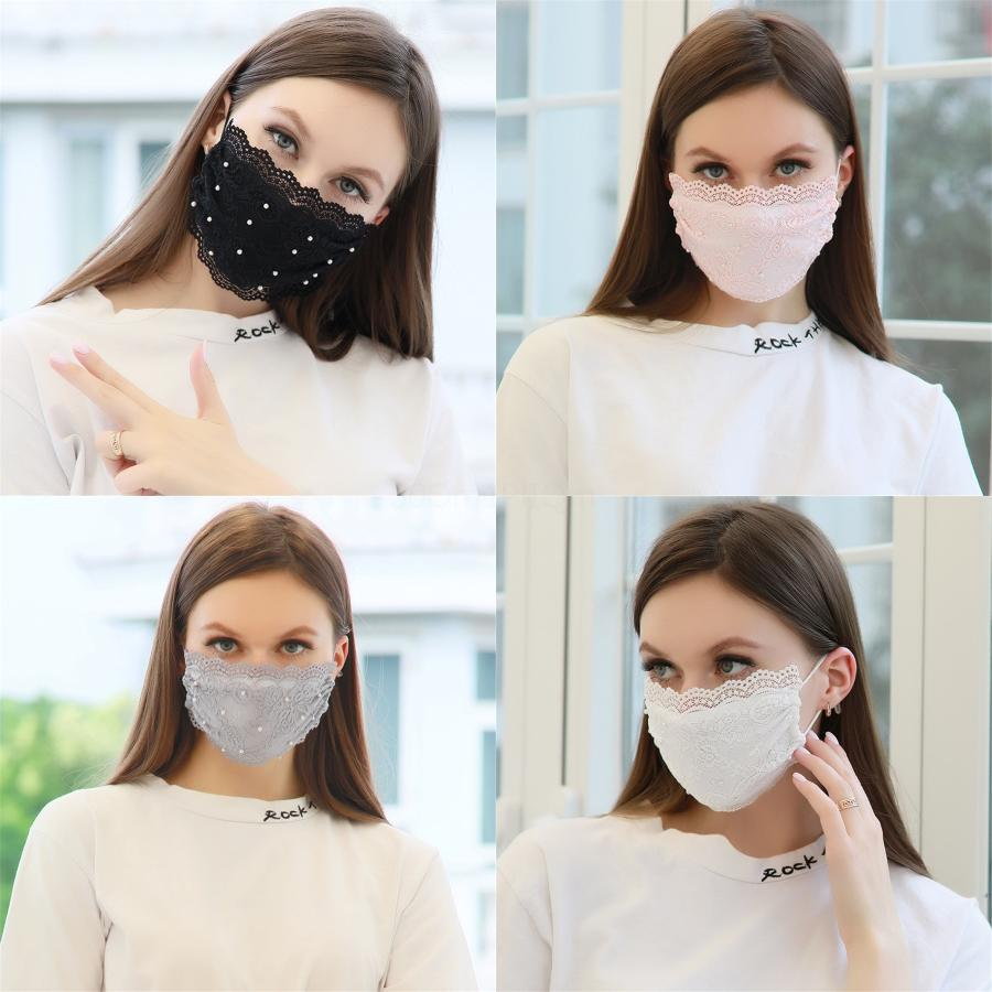 Maschere Designer maschera di protezione lavabile ClH DustproofRiding Ciclismo Flower Stampa Maschere solid # 662