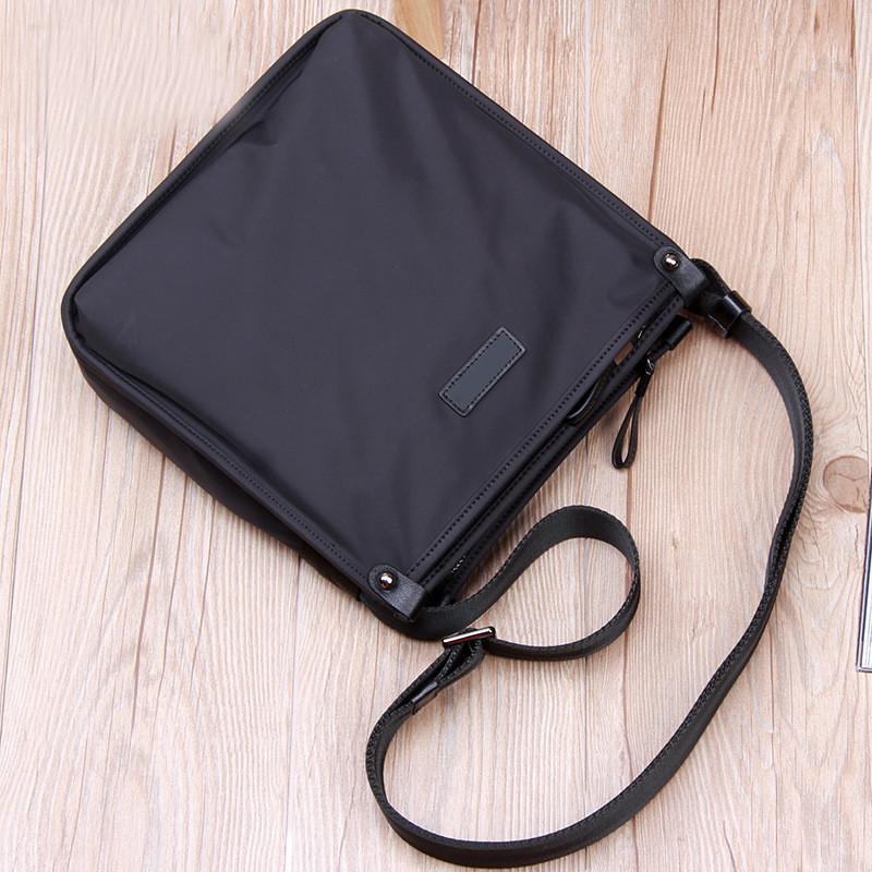 2020 Neue Mode Luxus Design Geschäftsmann Tasche Vintage Marke Herren Messenger Bag Hohe Qualität Oxford Tuch Umhängetasche Für männliche Bolsa Hot