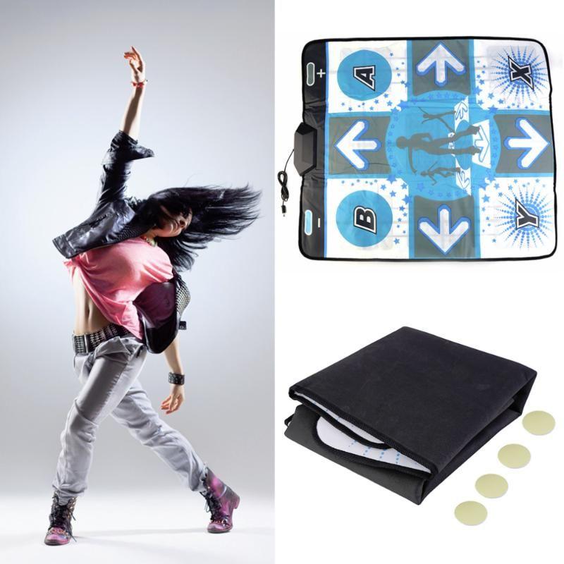Capteurs de mouvement Pads de danse Pad de jeu pour Wii DANSE DANZA MAT Revolution Party Anti-Slip