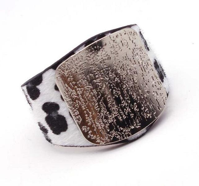 Bracelet de bijoux de luxe Créateurs Boucles d'oreilles femmes uniques impression eopard mode bracelet en cuir design bijoux accessoires gol