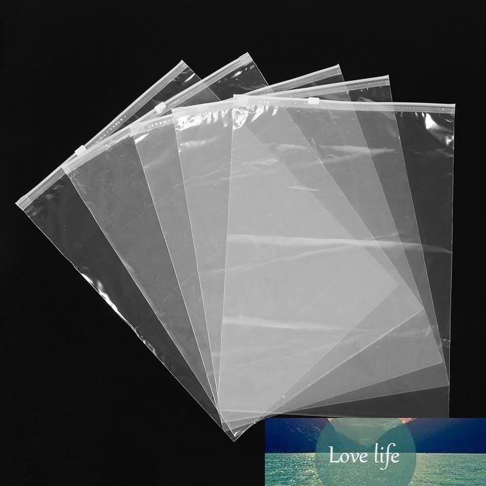 Plástico claro auto viajar organizador bloqueio pano pano de armazenamento transparente pacote de zíper bolsa quente selo à prova d 'água 5 pcs / lote saco jfkki