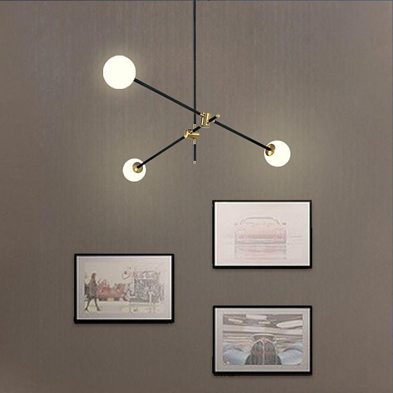 Nordic molecule Pendant lamp Dining room Bedroom Kitchen Island Branch Bubble Chandelier Post modern mid century home decor lamp