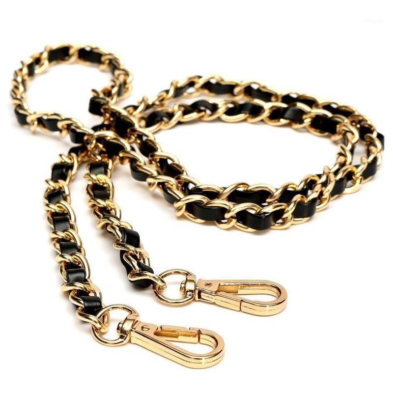Saco Peças Acessórios Chain Bolsa de Corrente Bolsa de Bolsa de Ombro Substituição Luz de Substituição Gold + Black120cm1