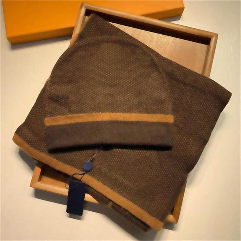 ciao 667 economici sciarpe lattic classici set uomini e donne designer cappello sciarpa set caldo caldo europeo di lusso cappello di lusso sciarpa moda accesso