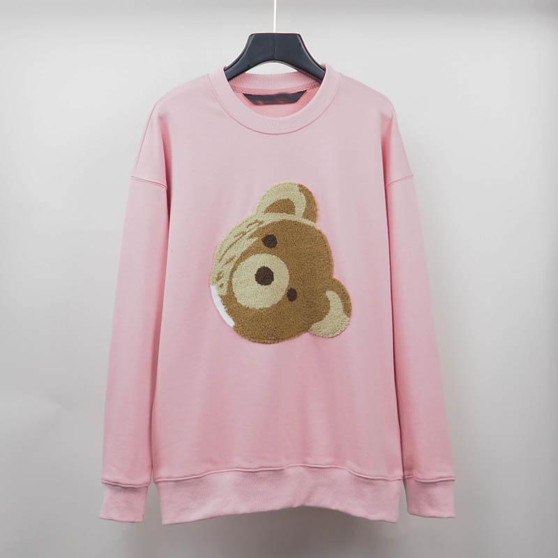 2021 moda outono inverno masculino menino urso quebrado Suéter de pelúcia urso moda Terry explosão camisola estilo homens e mulheres tamanho s-xl