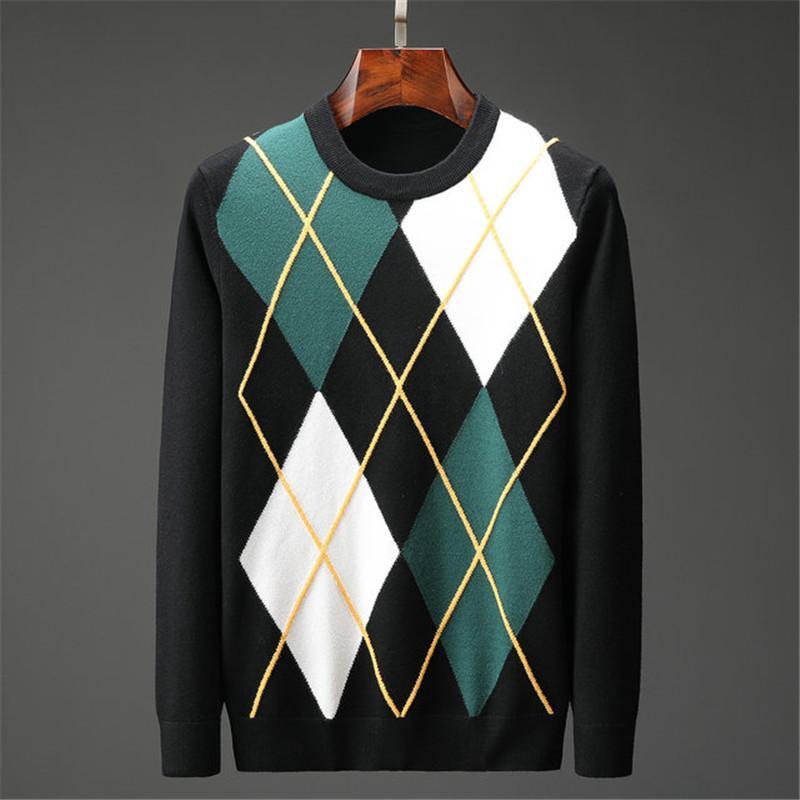 2020 Otoño Invierno suéteres de moda de los hombres manga larga carta de impresión Pareja suéteres jersey suelto Diseñadores suéteres 04