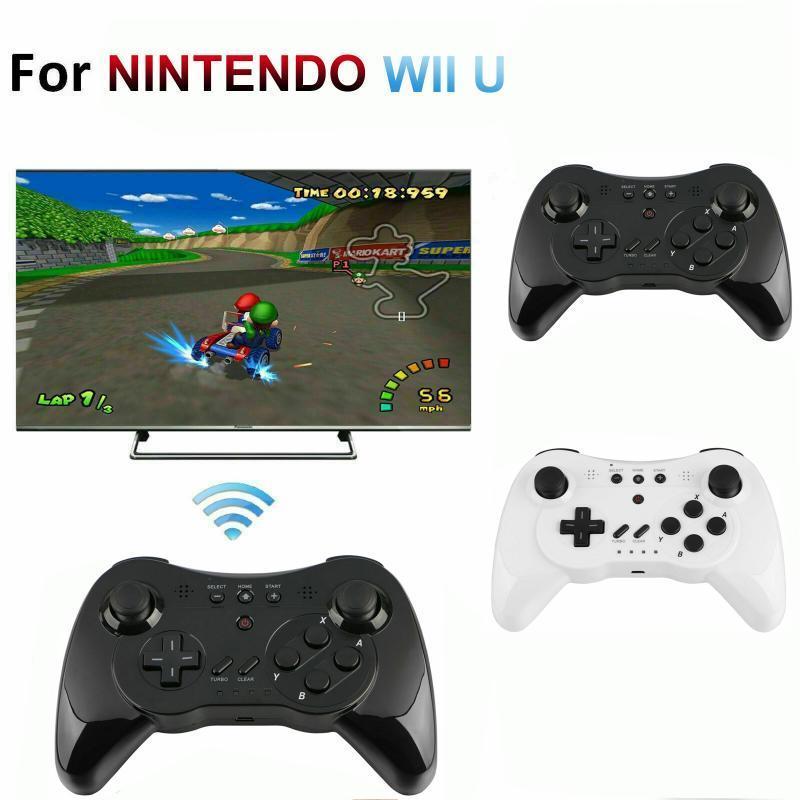 Bluetooth Pro Controller Gamepad Android Joystick sans fil Joypad avec câble USB pour Wii U pour Tablet PC Smart TV Box