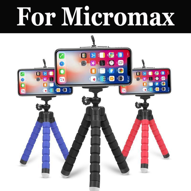 Tripé flexível Hot Smartphone remoto sem fio Shutter Para Micromax Canvas Pace 2 Plus alimentação 2 Xpress 4g Q454 Q462 Canvas 5 Lite