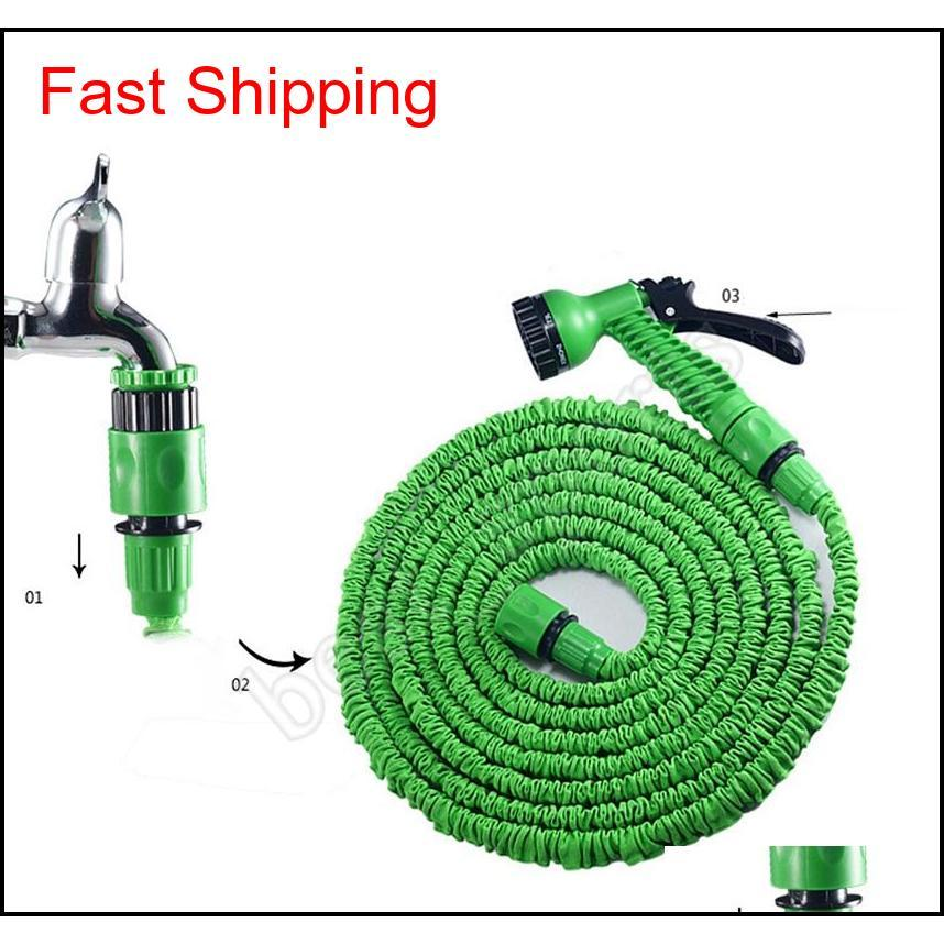100ft Garden Hose Expandable Magic Flexible Water Hose Pipe Watering Spray Gun For Car G qylirO hairclippers2011