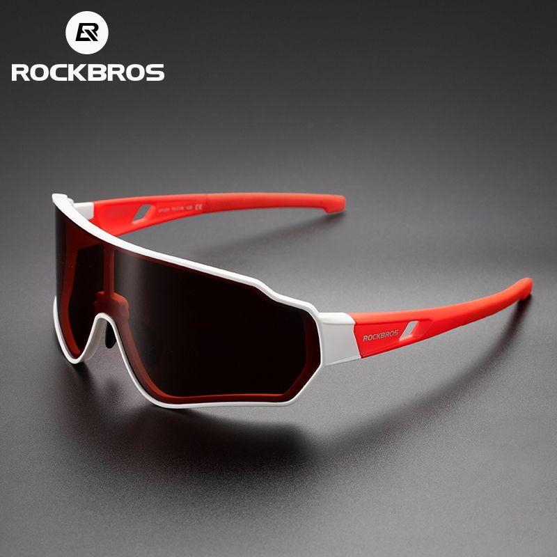Rockbros 야외 안경 편광 사이클링 안경 남성 여성 스포츠 하이킹 선글라스 photochromic glasse 내부 프레임 자전거 고글