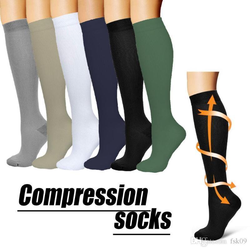 Brothock Compression Socks нейлон Уход чулки Специализируется Открытый Велоспорт быстросохнущая дышащая взрослых Спортивные носки
