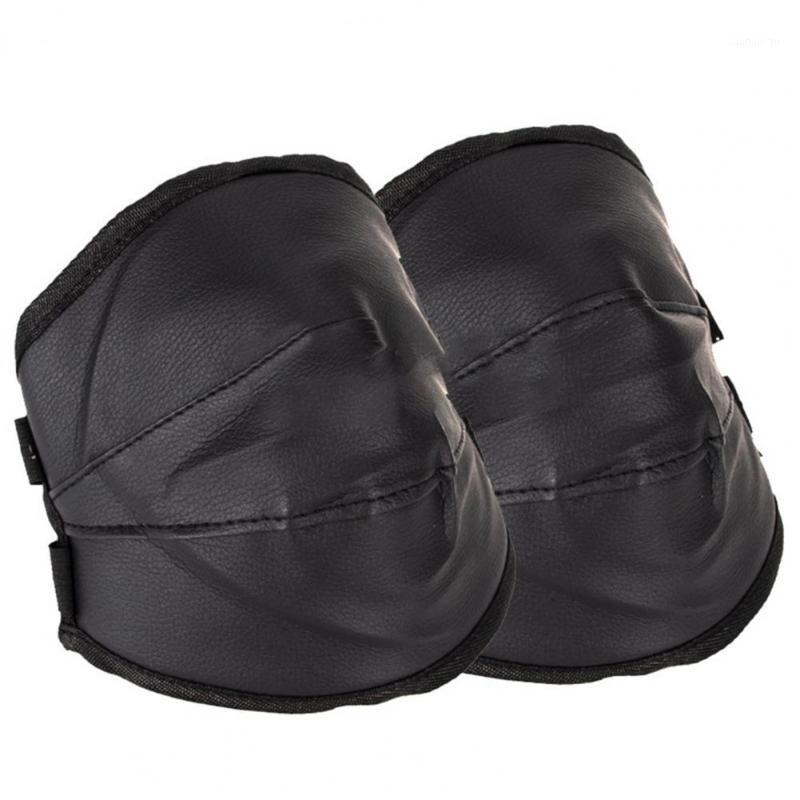2pcs Color sólido Peligro de piel de piel sintética cubierta protectora Equipo de protección1