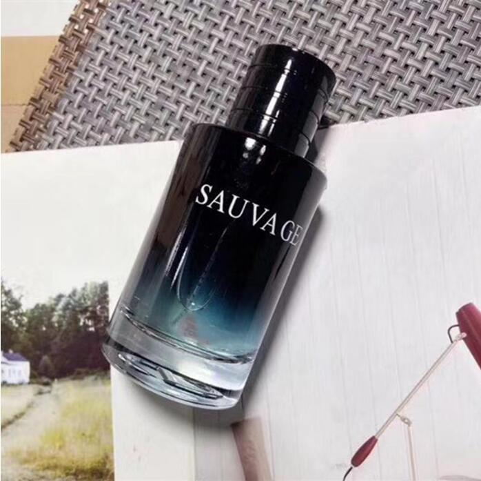 Sauvage Perfume para Homens Perfumer Francois Demachy Spray Colónia Parfo Durando Fragrância Clássica dos Homens EDP / EDT 100ML