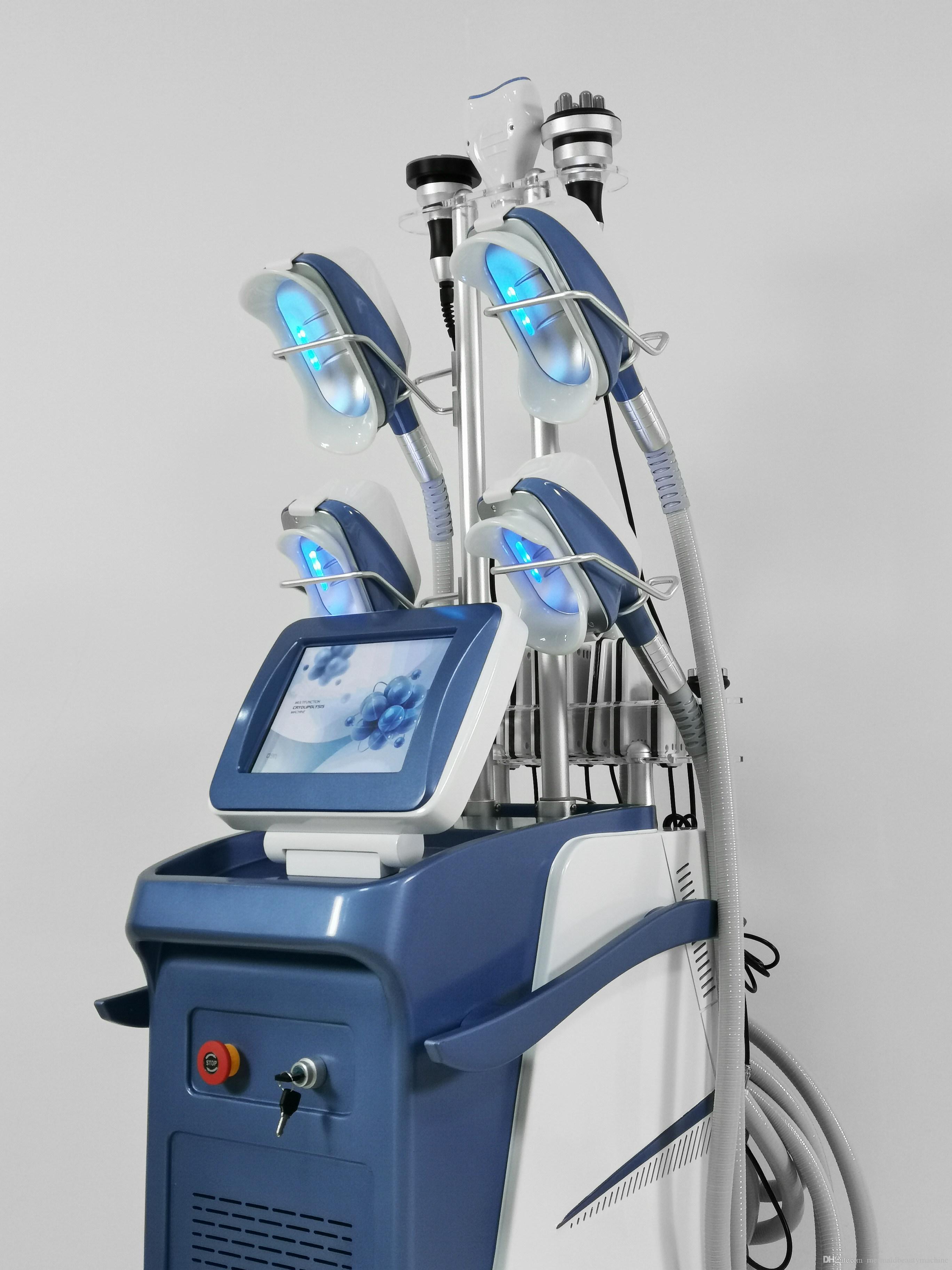 El ángulo newest360 circundante máquina Cryolipolysis que adelgaza Cryo + lipo láser + 40k cavitación + RF congelar eliminación papada
