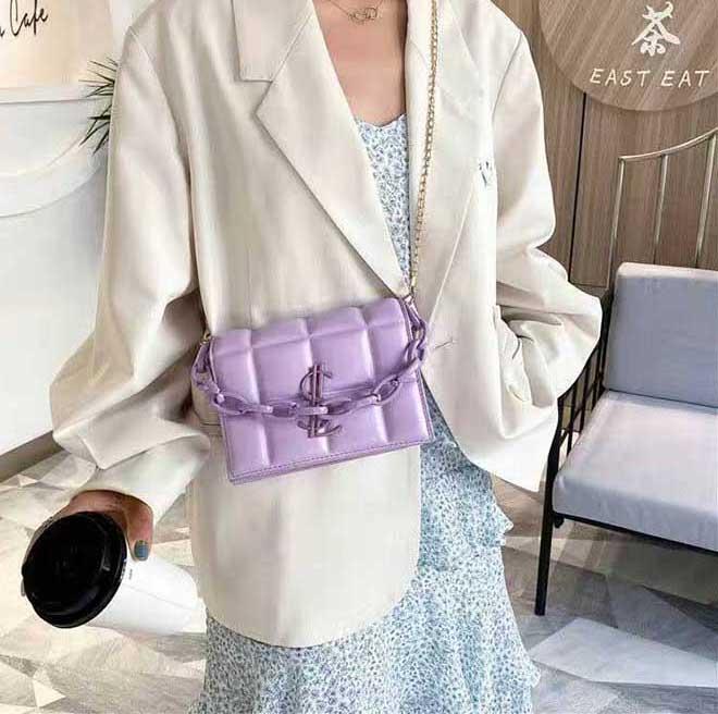 HBP New Quality Senhoras Moda Bolsa de Ombro Clássico Cadeia De Couro Plástico 65625255