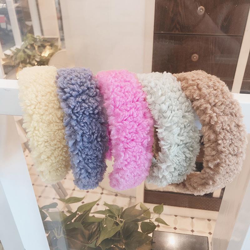 Kadınlar Bantlar Hairbands Vintage Saç Aksesuarları Saç Bantları Kış Parti Takı Sıcak Kuzu Kafa Noel Hediyesi Ücretsiz Kargo