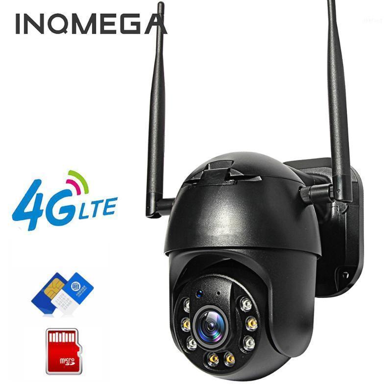 Caméra IP Inqmega Carte SIM 4G WIFI 4X Digital Zoom PTZ SURVEILLANCE NOIR DOME NOIR GSM Sécurité GSM Sécurité extérieure P2P SD CARD1