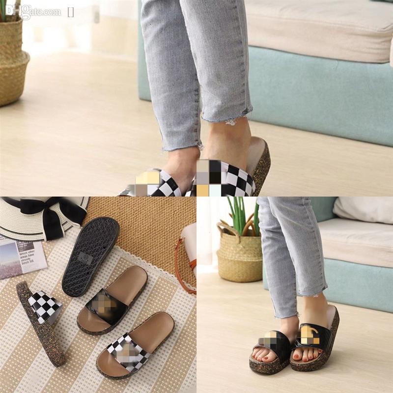 AMCYN Mode Fashion Slipper Femmes Sandales Designer par Bohemian Beach Femme Flats Flip Flops Chaussures Été Pantoufles Haute Qualité Diapositives