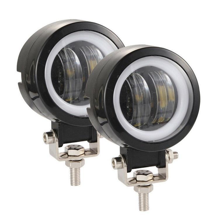 4x4 aksesuarları 3 inçlik 20W traktör Sürücü Sis Lambası çalışma lambası Araç Oto SUV ATV 4WD Off Road LED led