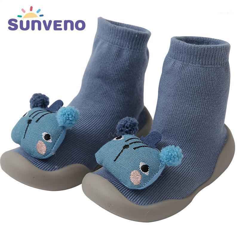 Baby Shoes socks Children Infant Cartoon Socks Baby Gift Kids Indoor Floor Leather Sole Non-Slip Thick Towel1