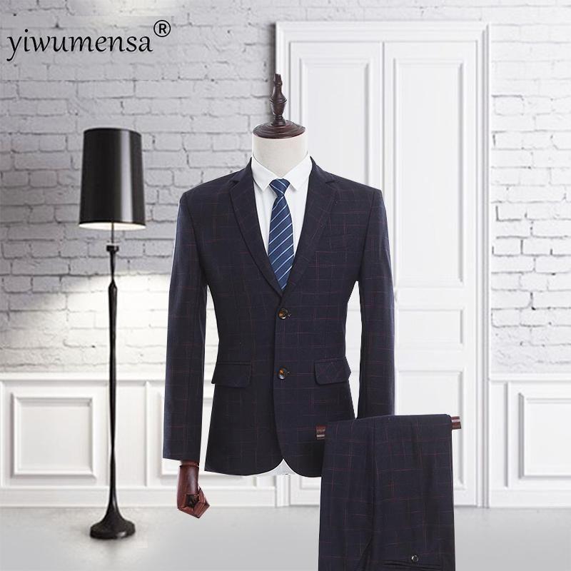 yiwumensa Marca Negócios Homens ternos feitos sob encomenda, Preto clássico Bespoke Ternos do casamento para homens, Tailor Made noivo Terno smoking