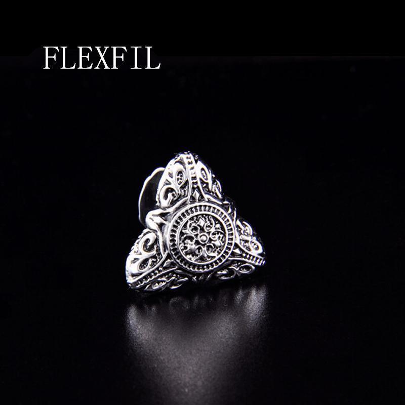 estilo Esparta FLEXFIL vendimia de la camisa de la mancuerna para hombre del diseñador del manguito enlace botón macho joyería cristalina Manga boda del envío