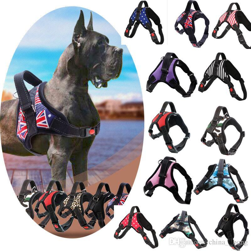 Dog leash Medium and large dog chain anti-explosion chest strap for walking dog rope pet supplies