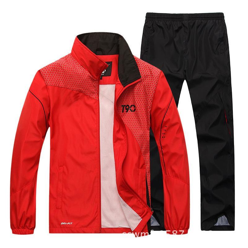 Spor Takım Elbise Erkekler Hızlı Kuru Spor Takım Elbise Gevşek Eşofman Erkek Bahar Sonbahar Fitness Koşu Takım Elbise Set Sıcak Koşu Eşofman 201207