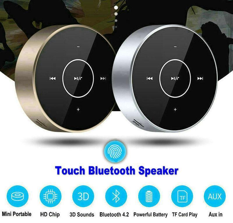 A6 Bluetooth 4.2 Динамик беспроводной сенсорное управление Мини-динамики HiFi Bass Stereo портативный динамик 120 шт. / Лот