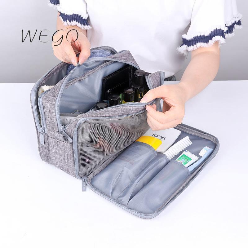화장품 가방 케이스 여행 워시 스토리지 가방 휴대용 옥스포드 천 대용량 메이크업