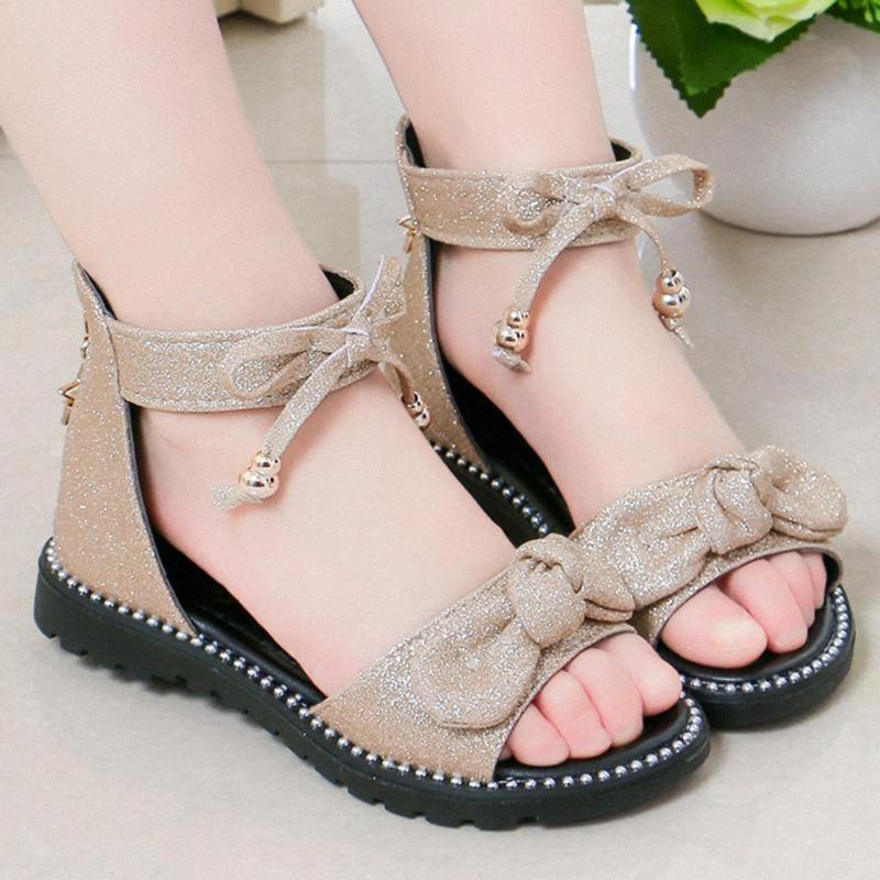 TELOTUNY sandalias niño infantil para niños verano de los bebés suavemente único del Bowknot de las sandalias de la cremallera de los zapatos ocasionales de los niños niñas Jun6 zXwc #