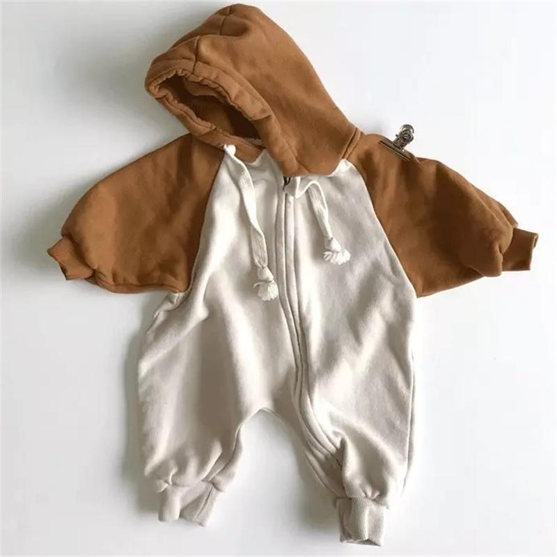 Ins осень корейский новый ребенок девочек мальчики розетки с капюшоном одежда мода одежда Y200320