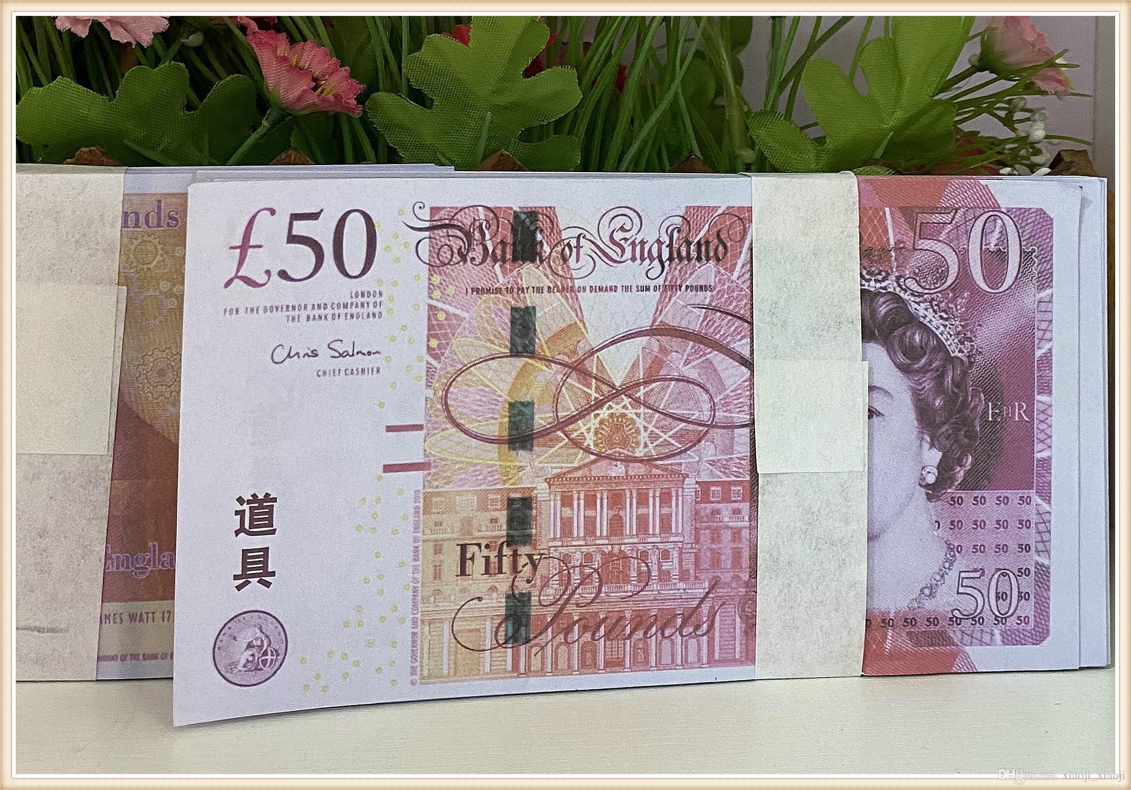 Melhor Falsa Prop Moeda 987 Banknote BankNote Qualidade Dólar Prop 99988 Filme Brinquedo Crianças Presente Dinheiro Partido QHHPO