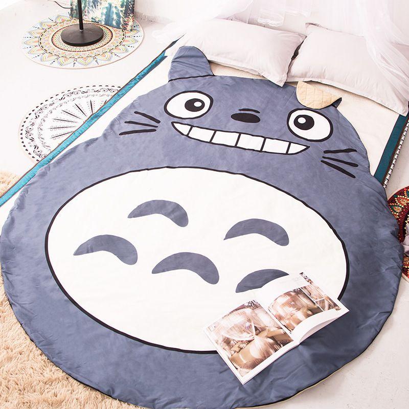 1pcs Cartoon Air Conditioning Comforter Children Adult Anime Totoro Blanket Cool in Summer Bedding