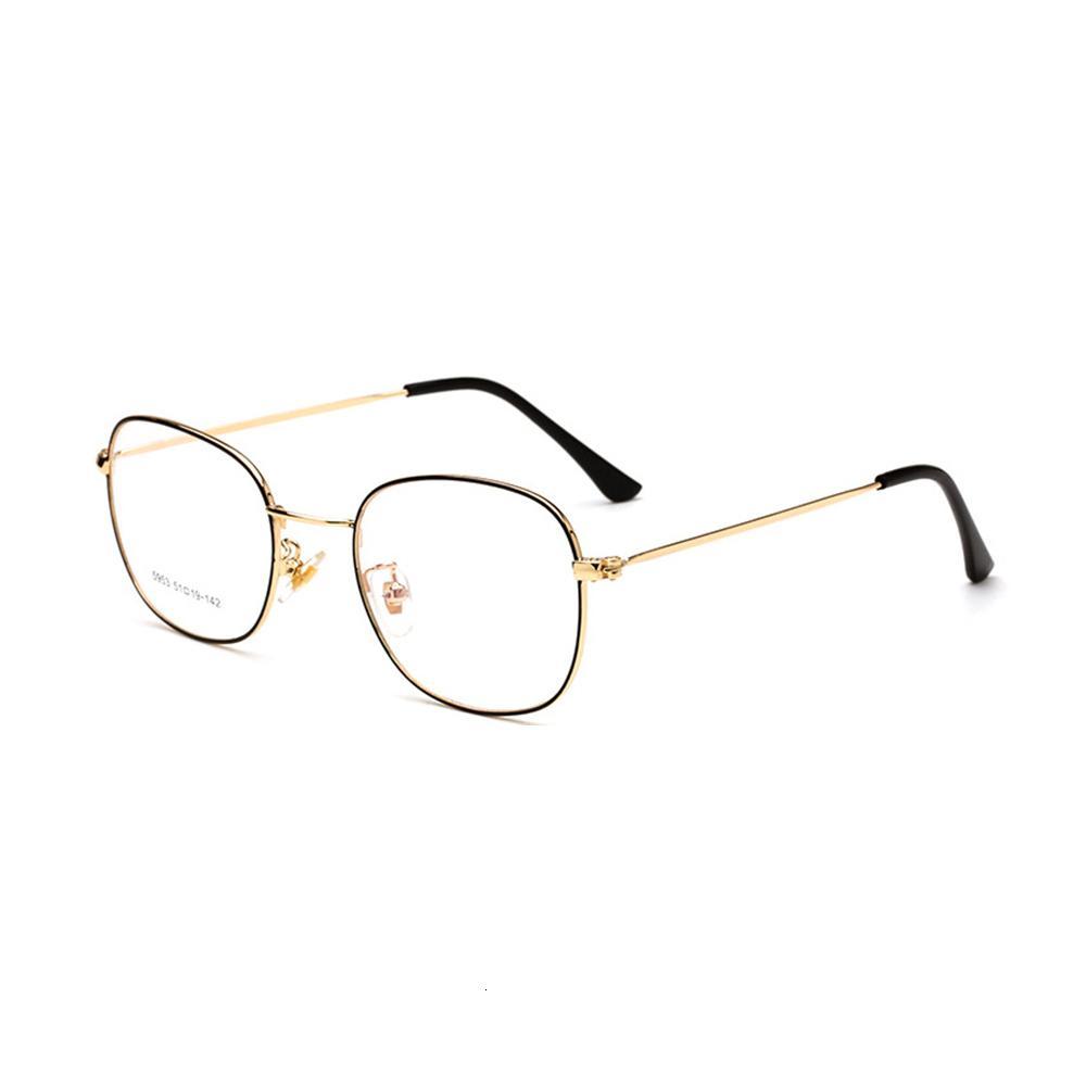 6044olo Computer Frames Frames Klassen Freitag Schwarz Rahmen Brillen Transparente Optische Retro Clear Frauen Eyewear Qvffr