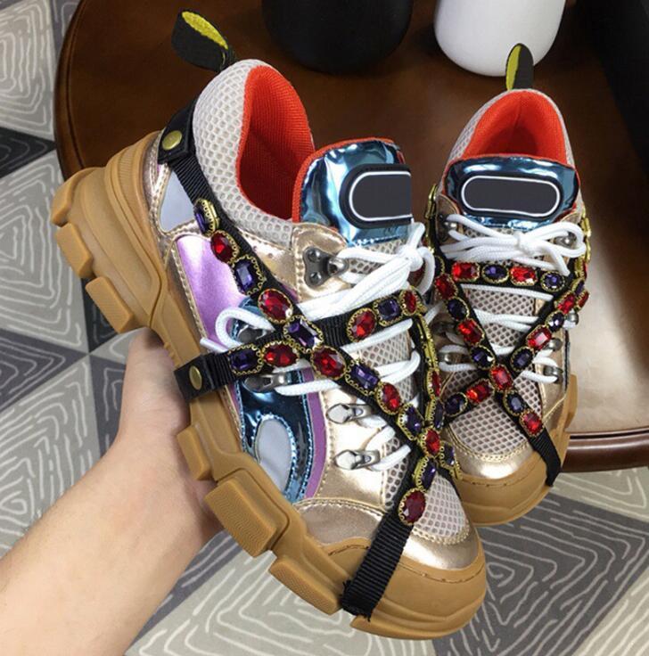 New Designer Sneaker FlashTrek Sneaker con mujeres extraíbles Hombres entrenador Zapatos de escalada de montaña para hombre Botas de senderismo al aire libre 051b #