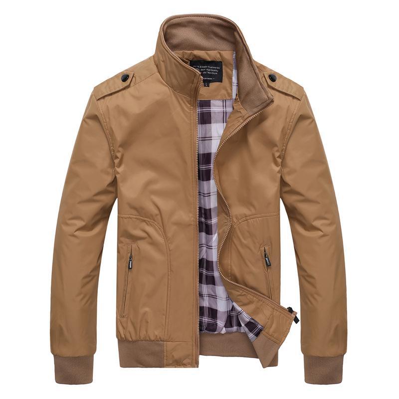 chaqueta deportiva chaqueta grande de la chaqueta de la chaqueta de Senyu de primavera y otoño nuevos hombres de los hombres de los hombres de tamaño para los ancianos