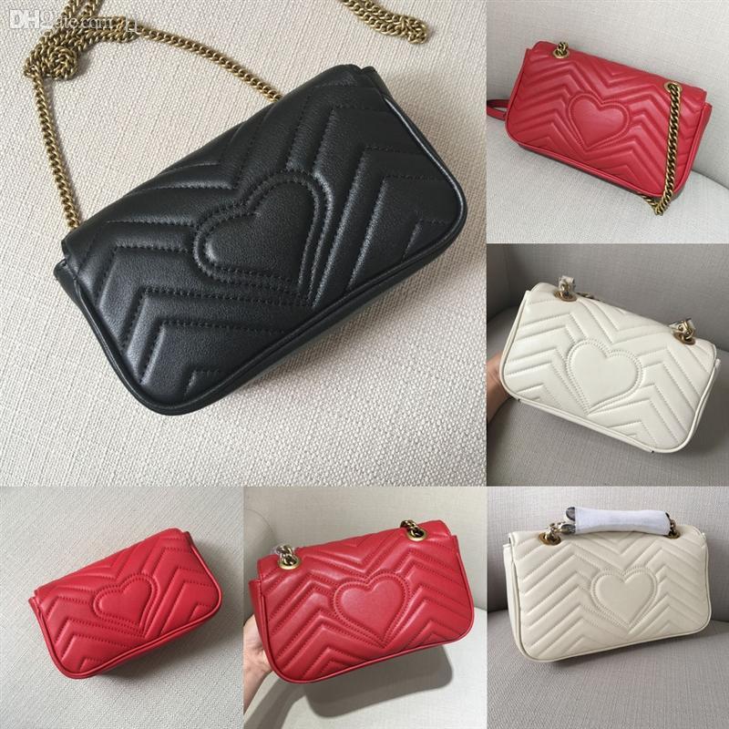 Q29 Высококачественная цепь сумки цепи кожаные женские одноволновые узор на плечо мода любовь v настоящий дизайнер дизайнерский дизайнер бренда crossbody